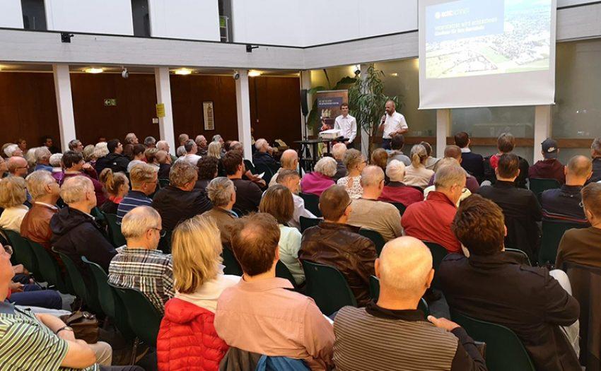 Volles Haus in Vaterstetten: Über 100 Besucher bei unserer dritten Infoveranstaltung